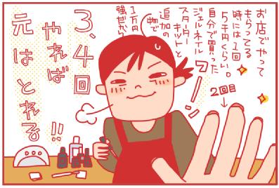 ジェルネイル初心者編