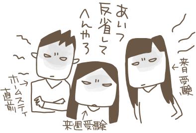 次男の家出→帰宅→その後
