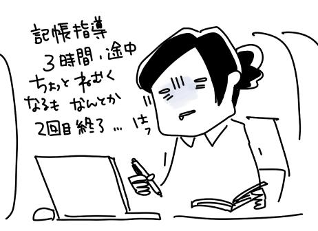 税務署主催の青色申告記帳指導/第2回