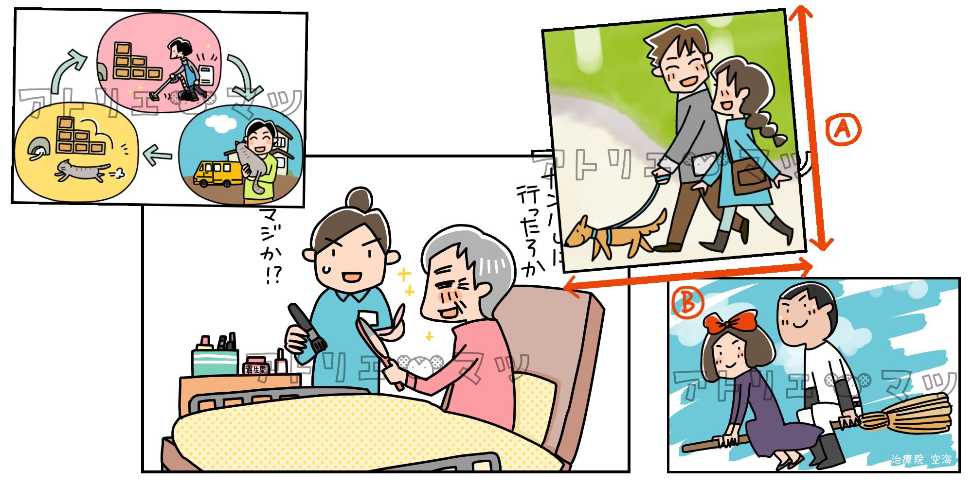 【サービス一覧】カットイラスト