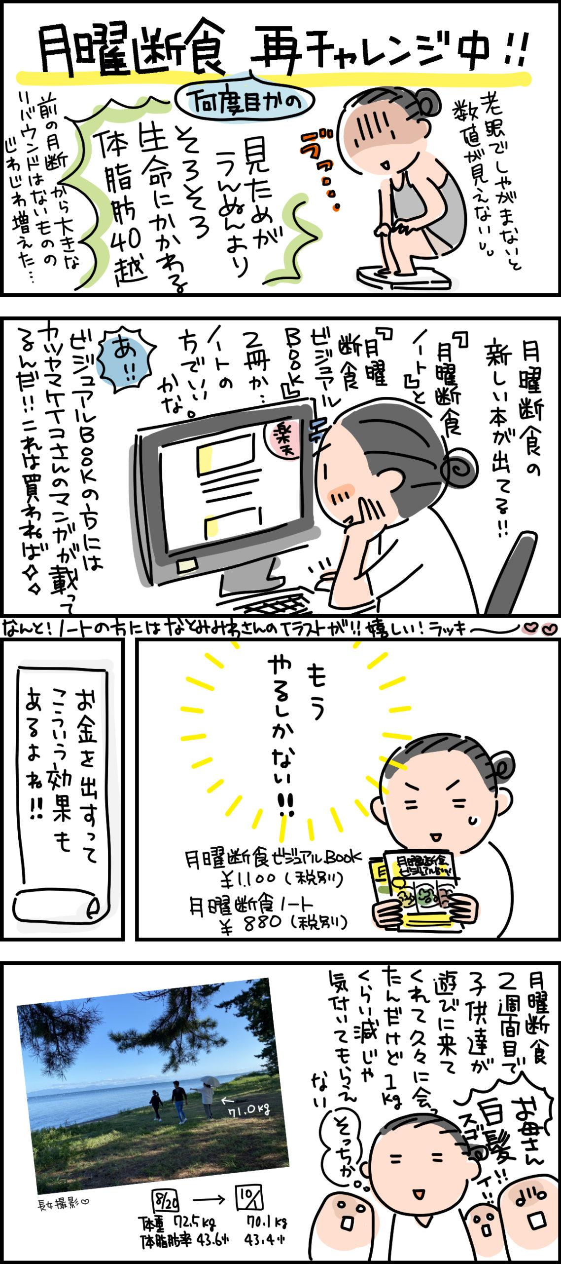 【続】月曜断食、再挑戦★